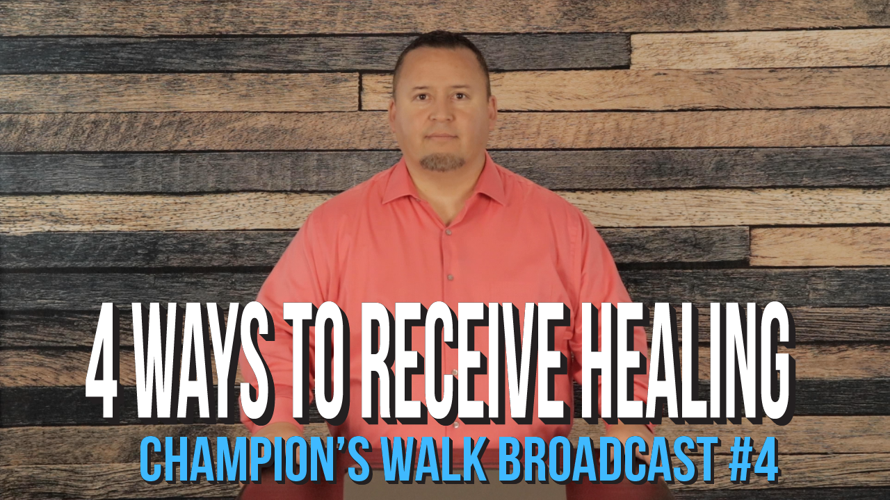 4 Ways To Receive Healing